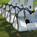 Row Shaver Hooded Sprayer with Optional Tubes Closeup